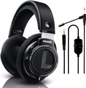 Open-back headphones
